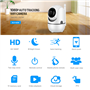 2.0 Megapixel Smart 1080p Wifi IP Camera PTZ Dual Lens Intelligent Cruise Full HD GatoCam - 12