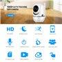 Telecamera HD-IP Monitoraggio automatico inclinazione intelligente a infrarossi Wifi 2.0 Megapixel Full HD 1920x1080p GA-298ZD-2