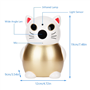2.0 Megapixel Smart 1080p Wifi IP Lucky Cat Camera Full HD GatoCam - 5