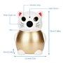 Telecamera HD-IP Wifi Lucky Cat 2.0 Megapixel a infrarossi ... GatoCam - 5