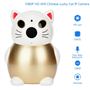 Lucky Cat 2.0 Megapixel Full HD Smart Infrarood Wifi HD-IP Camera 1920x1080p GatoCam - 2