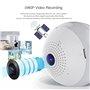 Lampe LED avec Caméra Espion 2.0 Megapixel Wifi à Vision Panoramique Full HD 1920x1080p GA-A9R GatoCam - 1