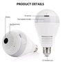 Lâmpada LED com câmera espiã de 2,0 megapixels Wifi com visão panorâmica Full HD 1920x1080p GA-A9R GatoCam - 4