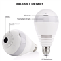 LED Lamp met Spy Camera 2.0 Megapixel Wifi met Full HD Panoramisch zicht 1920x1080p GA-A9R GatoCam - 4