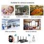 Lampada a LED con telecamera spia 2.0 Megapixel Wifi con visione panoramica Full HD 1920x1080p GA-A9R GatoCam - 12