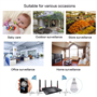 LED Lamp with HD Spy Camera with Panoramic Vision Full HD Resolution 1920x1080p GatoCam - 12