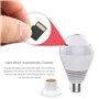 Lâmpada LED com câmera espiã de 2,0 megapixels Wifi com visão panorâmica Full HD 1920x1080p GA-A9R GatoCam - 10