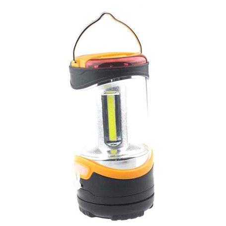 Linterna de camping recargable de doble iluminación LED y COB Hailite - 1