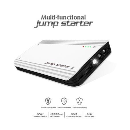 Jump Starter Power Bank 8000 mAh with Bright Flash LED Ayda - 1
