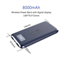 8000 mAh Qi Wireless Powerbank Ayda - 3