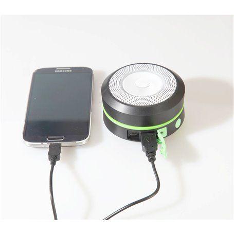 Solar Camping Laterne mit faltbarer LED-Beleuchtung und externer Batterie ... Jufeng - 1