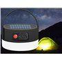 Słoneczna latarnia kempingowa z oświetleniem LED i przenośnym akumulatorem zewnętrznym 2000 mAh Jufeng - 4