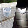 Applique a LED a Rilevamento di Movimento ad Energia Solare Jufeng - 4
