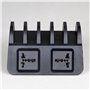 Estação de carregamento inteligente 10 portas USB 60 Watts CS52QT Lvsun - 5