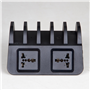 Intelligente Ladestation 10 USB-Anschlüsse 60 Watt CS52QT Lvsun - 5