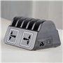 Estação de carregamento inteligente 10 portas USB 60 Watts