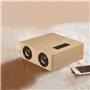 Vintage Quadruple Design Mini Bluetooth Speaker and FM Radio