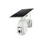 Caméra de Sécurité Intelligente PTZ 4G GSM Infrarouge 2.0 Megapixel Solaire et sur Batterie Full HD 1920x1080p